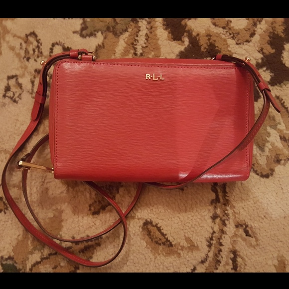 Ralph Lauren Bags   Red Cross Body   Poshmark a86e59d6d8